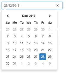 Bootstrap Datepicker 7
